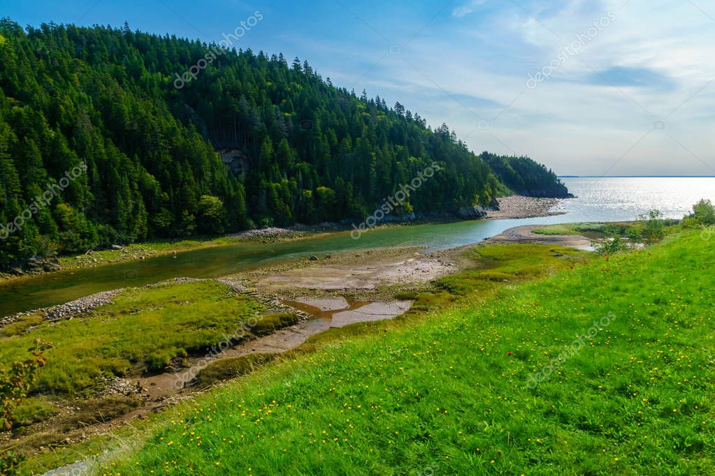 Big Salmon River, in Fundy Trail Parkway