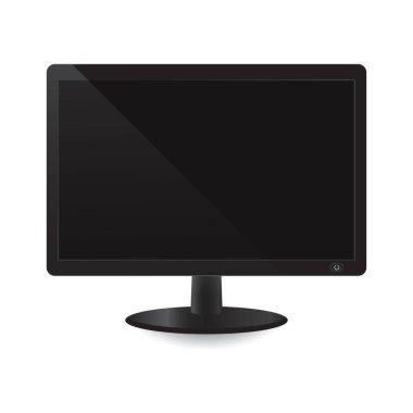 computer monitor, design vector illustration
