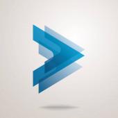 vector logo design template. abstract geometric shape