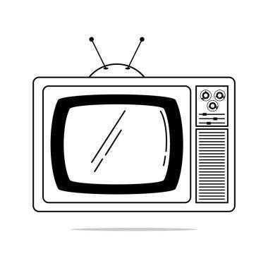 tv icon. vector illustration