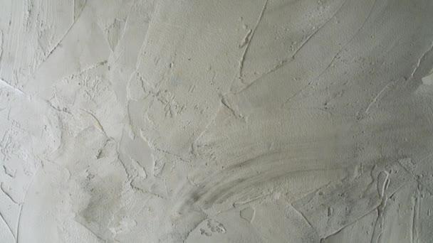 Halmozott falfelület festett fehér