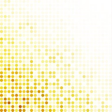 Yellow Random Dots Background, Creative Design Templates