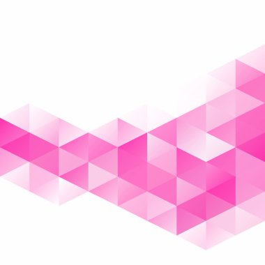 Pink Grid Mosaic Background, Creative Design Templates