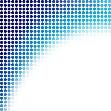 Blue Dots Background, Creative Design Templates