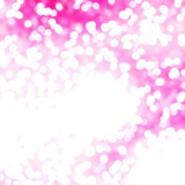Defocused Unique Abstract Purple Bokeh Festive Lights
