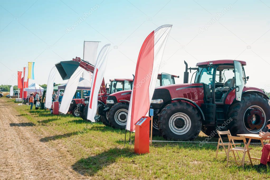 Agricultural machinery presentation
