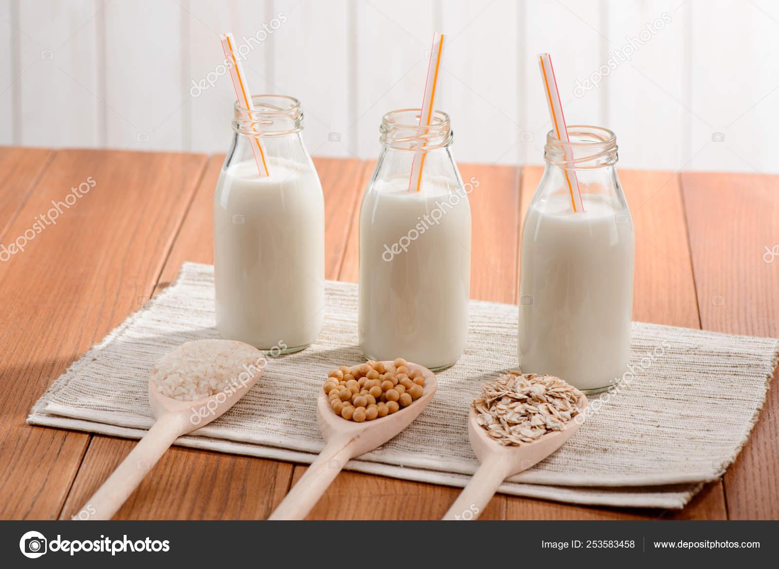 leche de arroz casero
