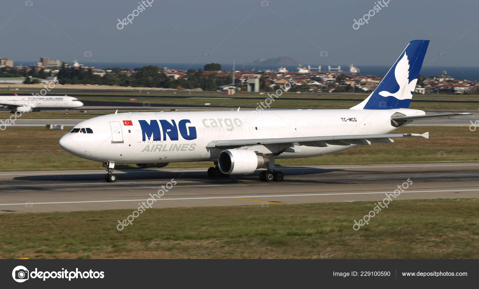 Istanbul Turkey August 2018 Mng Airlines Airbus A300 605Rf 739 — Stock Photo