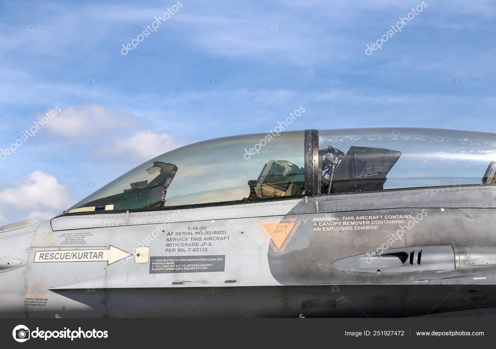 General Dynamics F-16 Fighting Falcon in Teknofest Istanbul