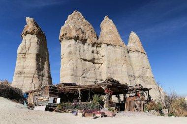 Rock Formations in Love Valley, Cappadocia, Nevsehir, Turkey