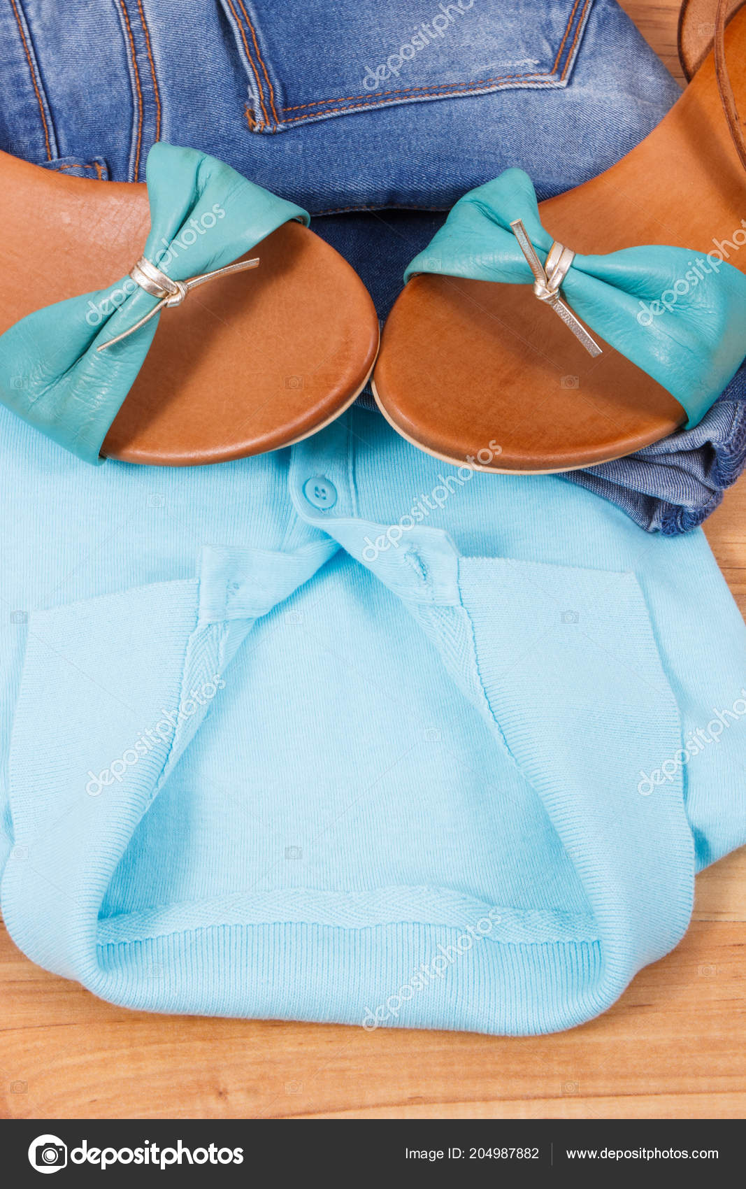 Mujer Ropa Camisa Cuero Para Pantalones Vaqueros Cómoda Sandalias Concepto BrRqw0XWRx