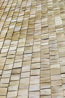 wood roof texture abstract background