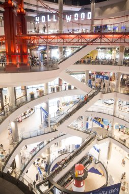 Khorat, Thailand, CIRCA November 2017: inside Shopping Mall Terminal 21 in city Khorat or Nakhon Ratchasima in Isan.