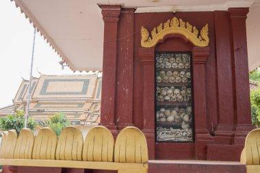 CAMBODIA SIEM REAP KILLING FIELDS WAT THMEY