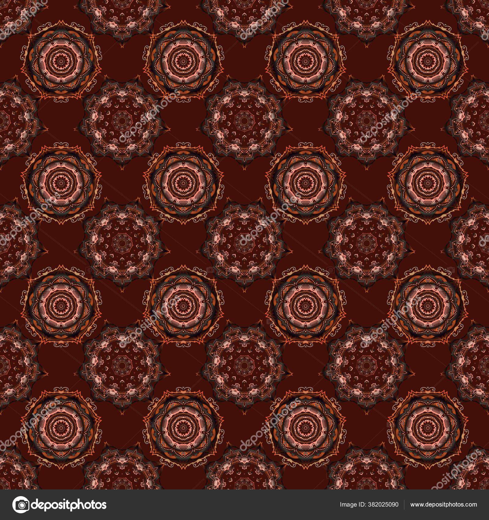 depositphotos 382025090 stock illustration seamless image elements black orange