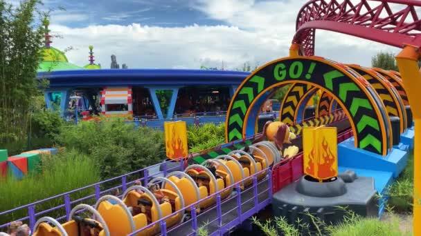 Orlando, FL / USA - 9 / 13 / 20: Slinky Dog Dash at Disney World