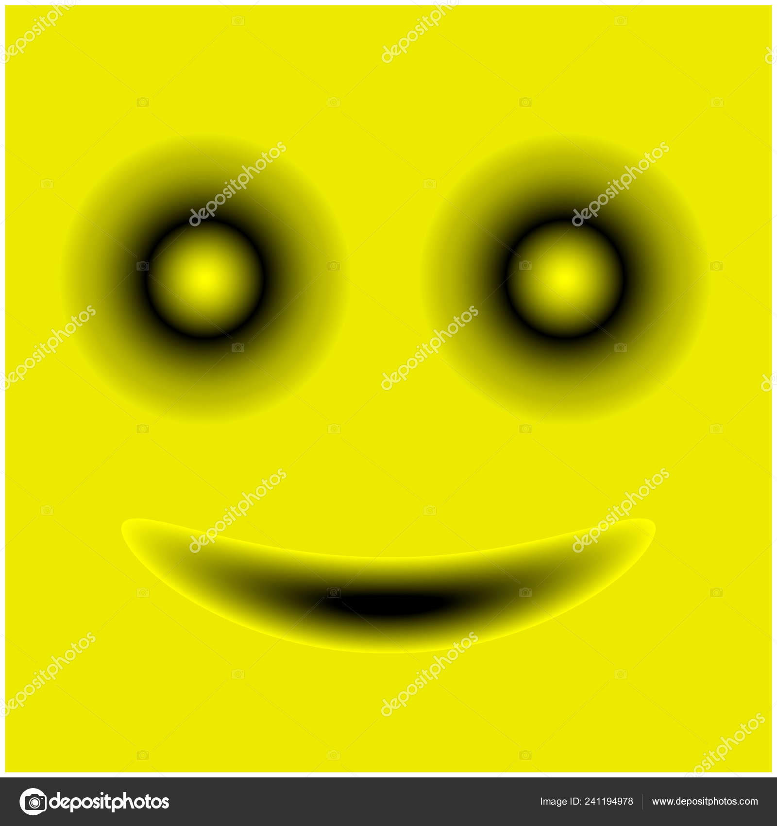 Smiley Face Stock Vector Template Design Stock Vector
