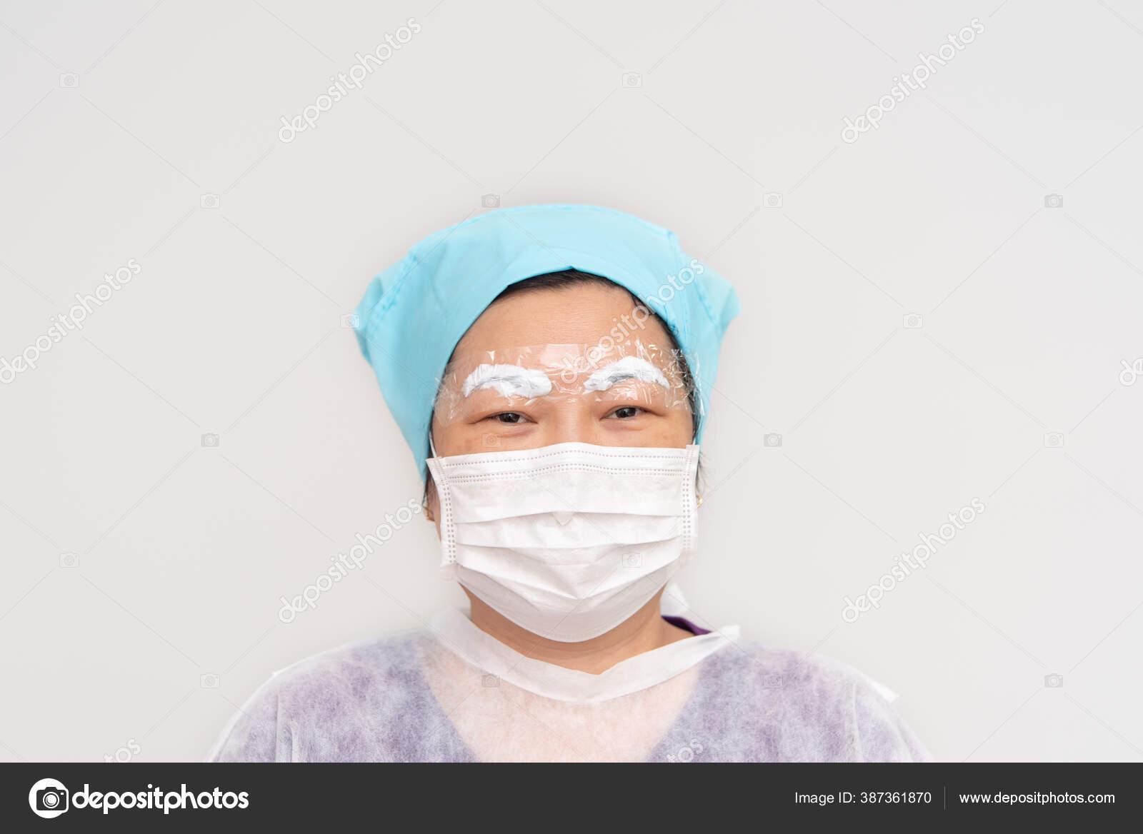 Asian Woman Eyebrow Tattooing Doctor Specialist Eyebrow Tattoo Clinic Eyebrow Stock Photo C Pongmoji 387361870