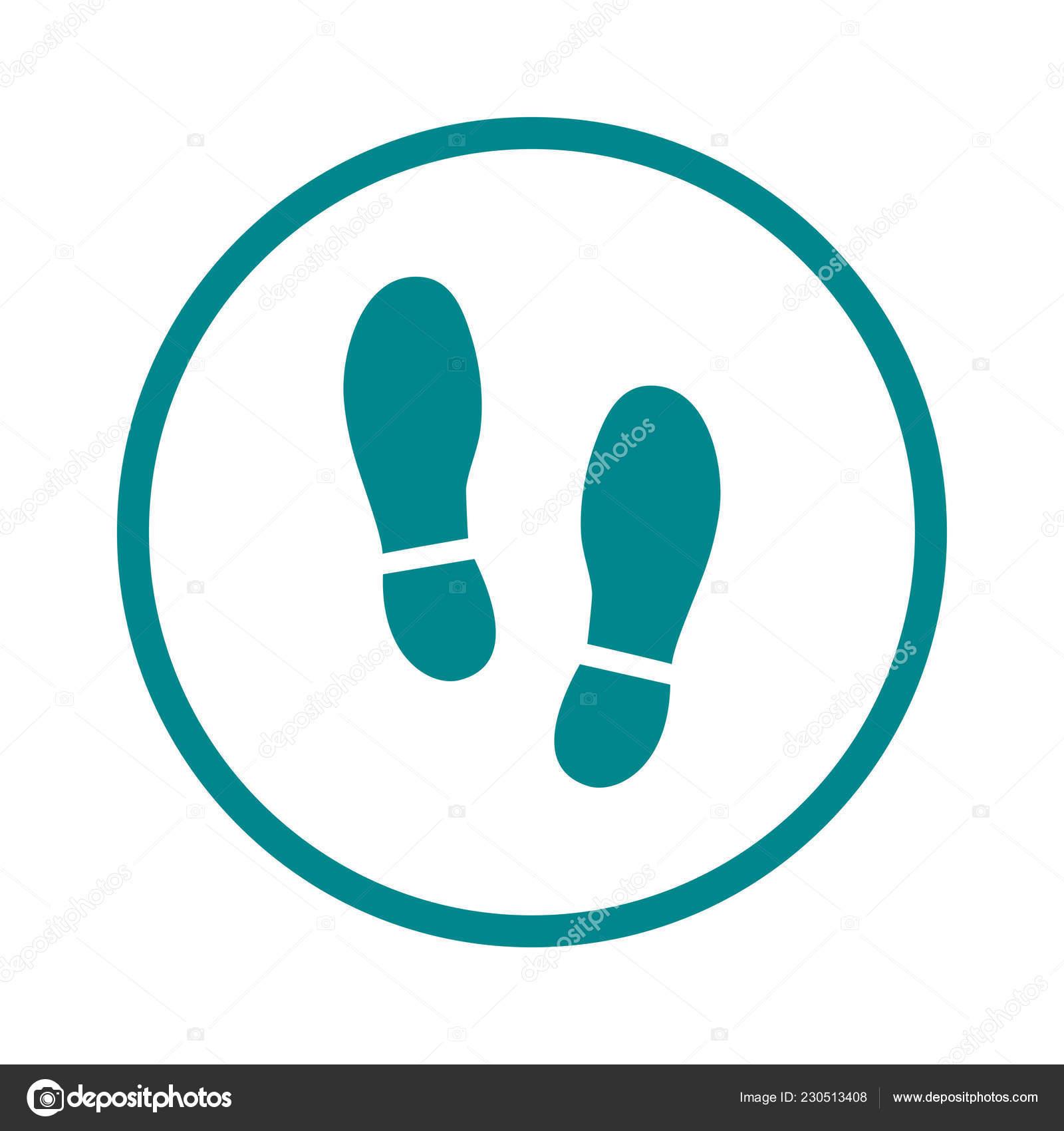 Boot Schuhe, Isoliert Schwarz Und Weiß Flach Icon Design