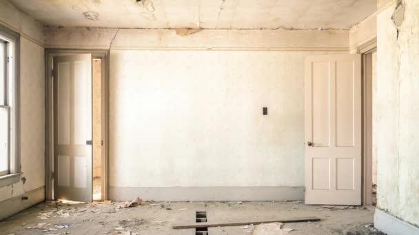rekonstrukce prázdná místnost s oknem