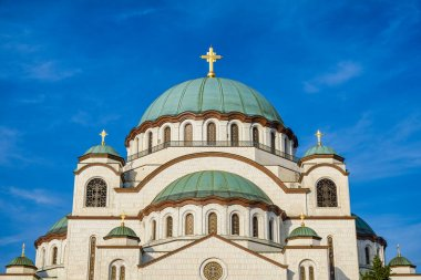 Saint Sava church, one of the world's biggest Orthodox Christian churches in the world, Belgrade, Serbia