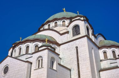 Saint Sava church, one of the biggest Orthodox Christian churches in the world in Belgrade, capital of Serbia