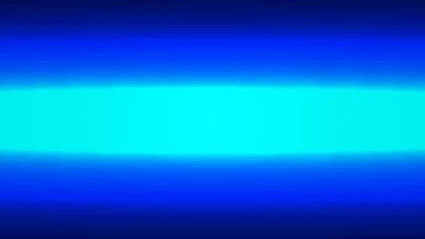 Neon gerade blaue Linie, künstlerische video Darstellung