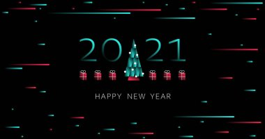 depositphotos 412193648 stock illustration happy new year 2021 holiday
