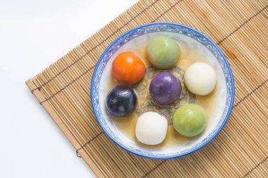 festival desserts food onTang Yuan, Lantern Festival, Winter Solstice Festival,