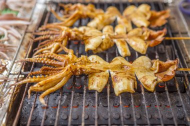 tasty street food in Asia