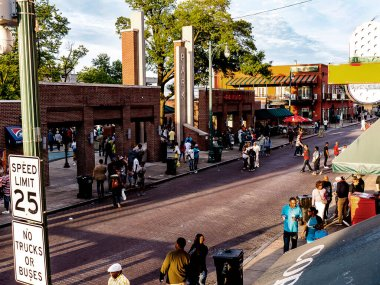 Beale Street is a street in Downtown Memphis, Tennessee.It is a significant location in the city's history, as well as in the history of the blues. Today the blues clubs and restaurants that line Beale Street are major tourist attractions in Memphis