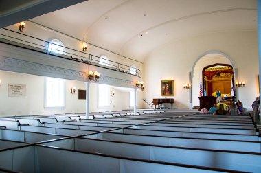 The Robert E Lee Chapel and Museum in Lexington Virginia USA