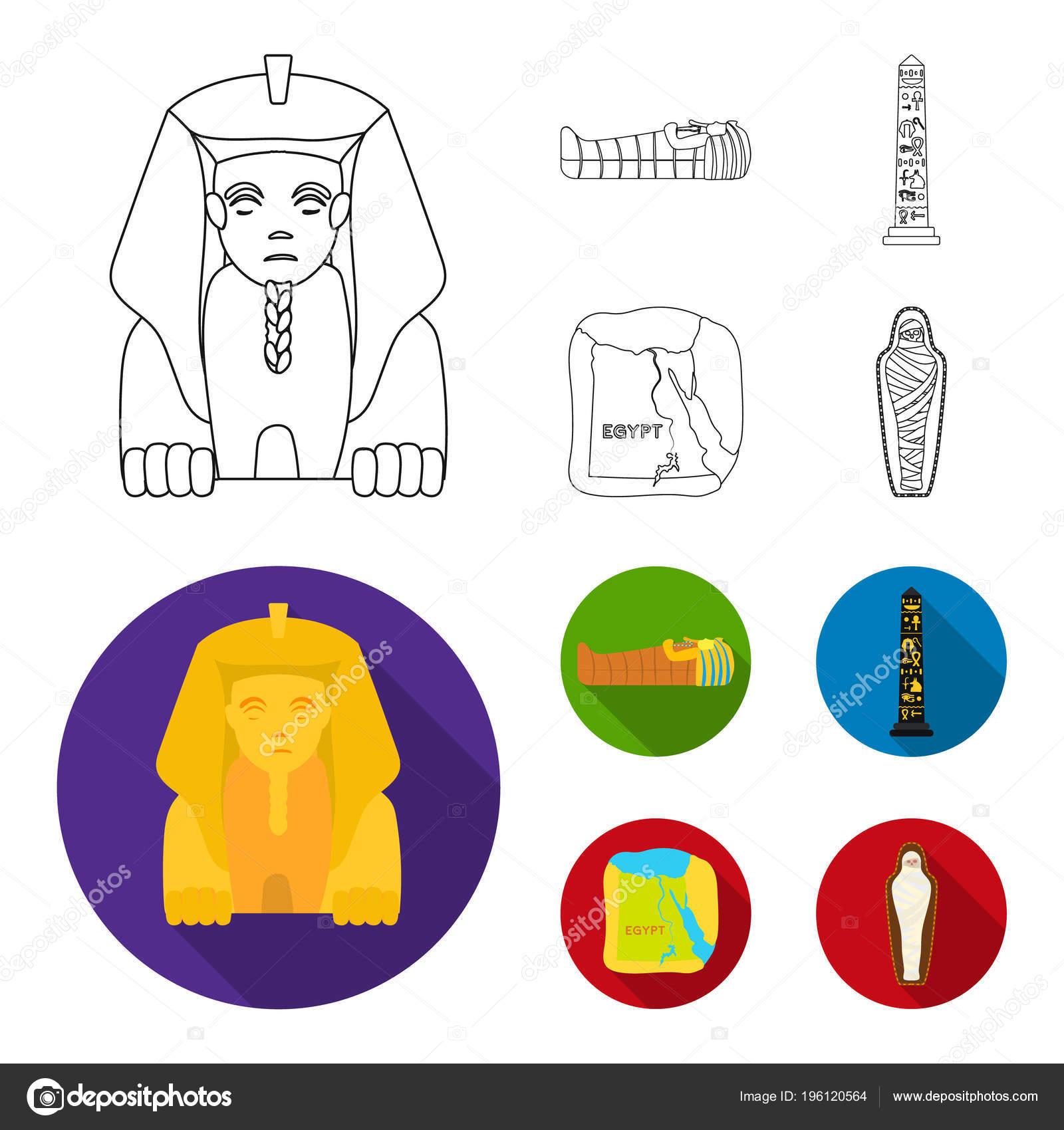O Territorio Do Egito A Esfinge O Sarcofago Do Farao O Pilar