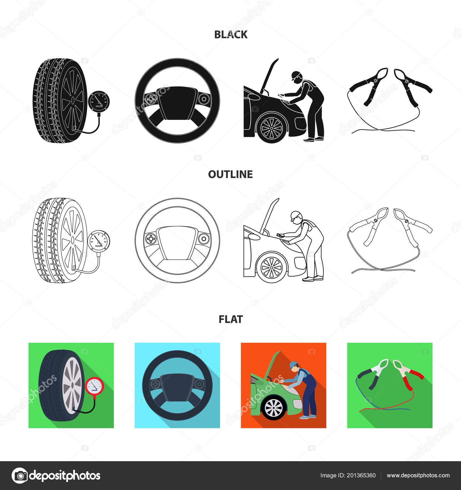Engine Adjustment Steering Wheel Clamp And Wheel Blackflat