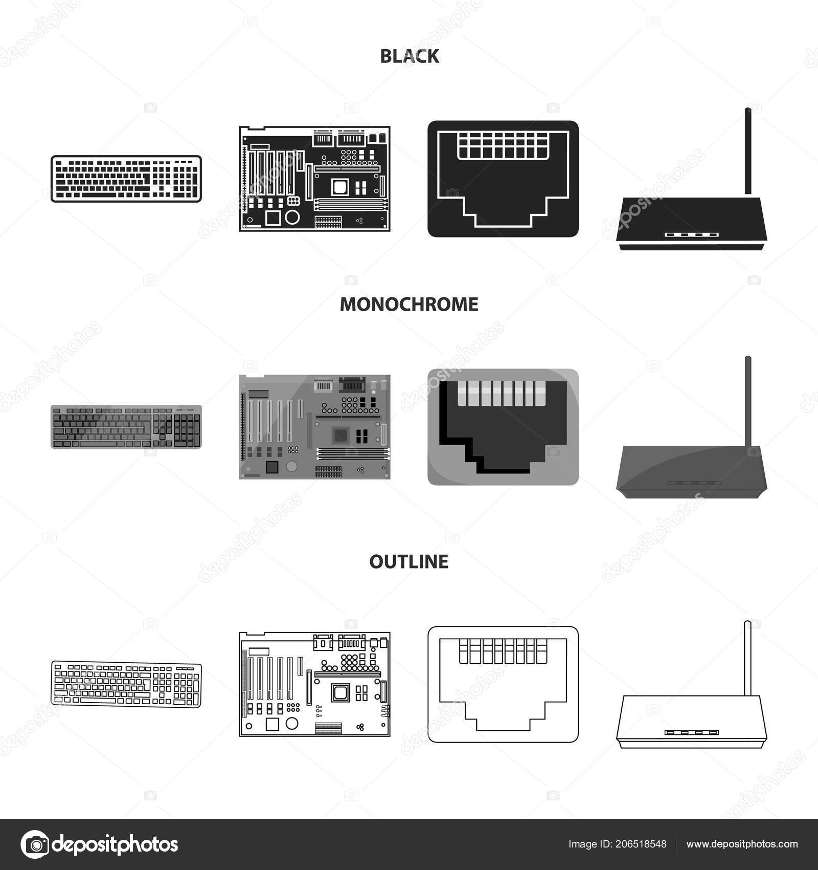 Computer motherboard wiring diagram symbols wiring diagram computer disk drive wiring diagram keyboard, router, motherboard and connector personal computer setkeyboard, router, motherboard and connector