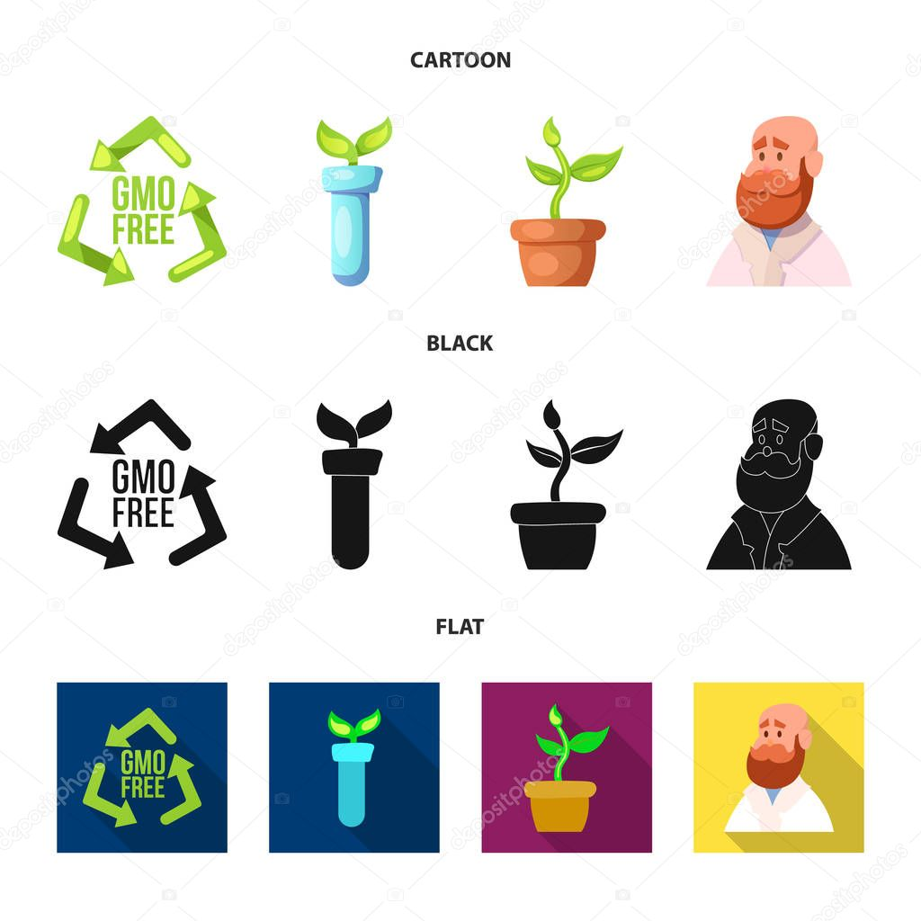 Vector design of  and  sign. Set of  and  stock symbol for web.