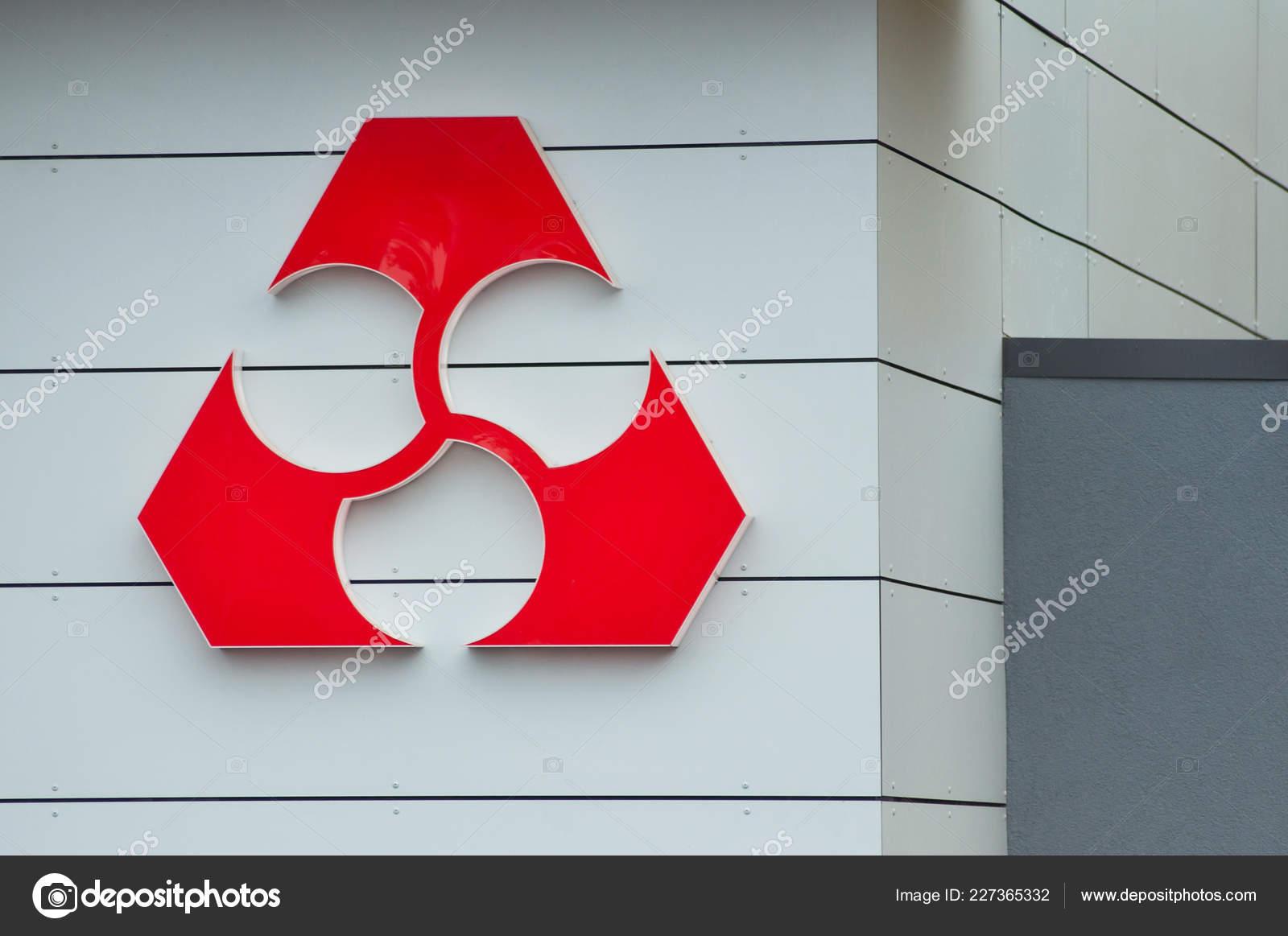 602ee5f0440 Mulhouse - France - 20 novembre 2018 - « crédit mutuel » français Banque  affichage du logo sur la façade du bâtiment moderne — Image de ...