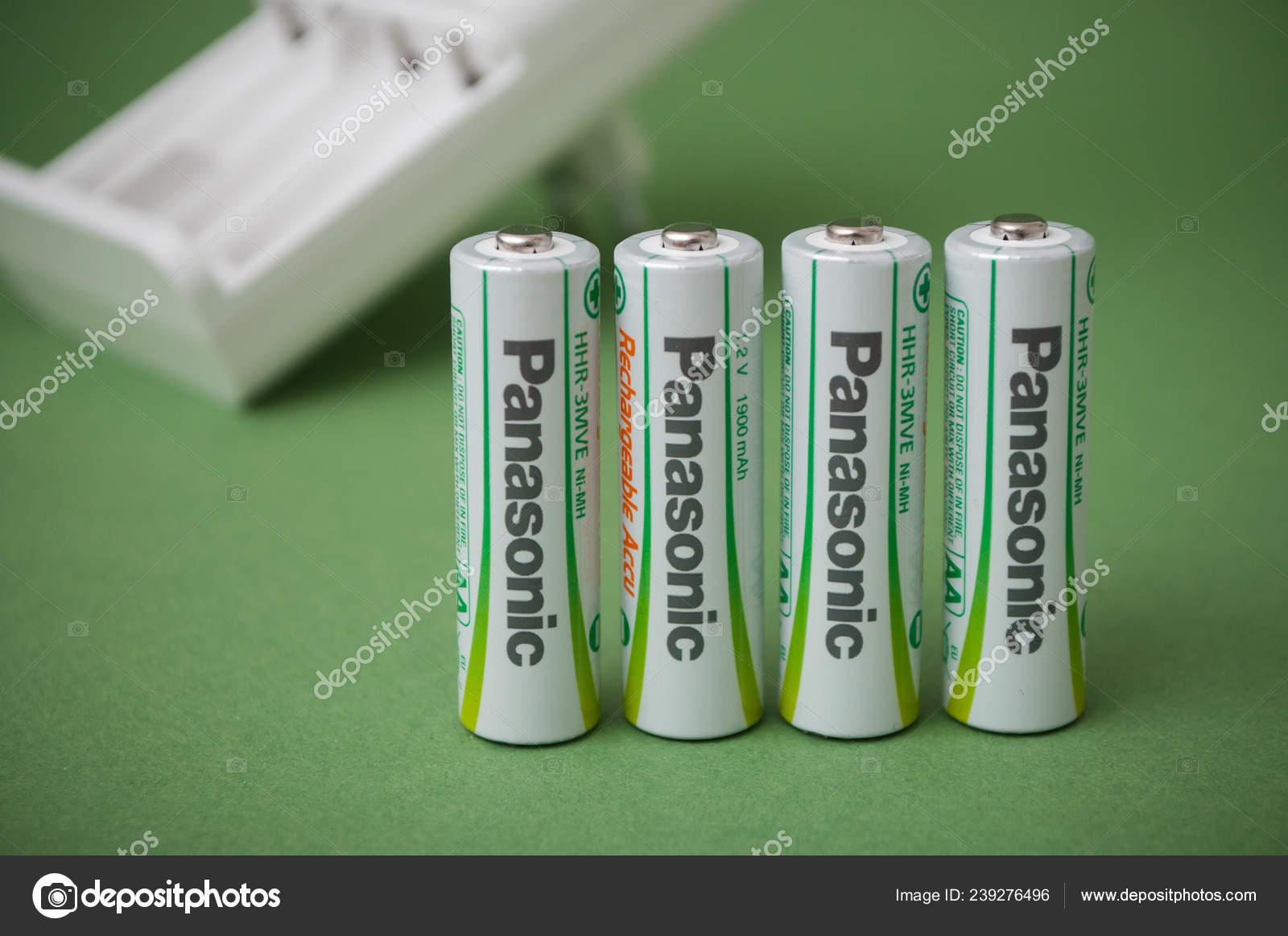 Rechargeable Alkaline Batteries >> Mulhouse France January 2019 Closeup Rechargeable Alkaline
