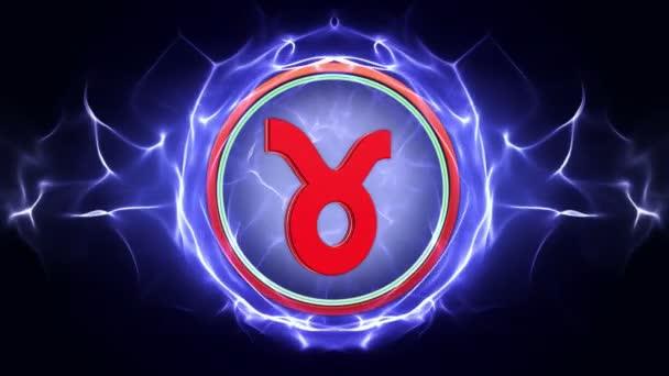 Sternzeichen, Horoskop, Hintergrund, mit Alphakanal, Schleife, 4k
