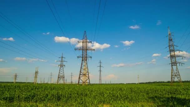 věže přenos elektrické energie