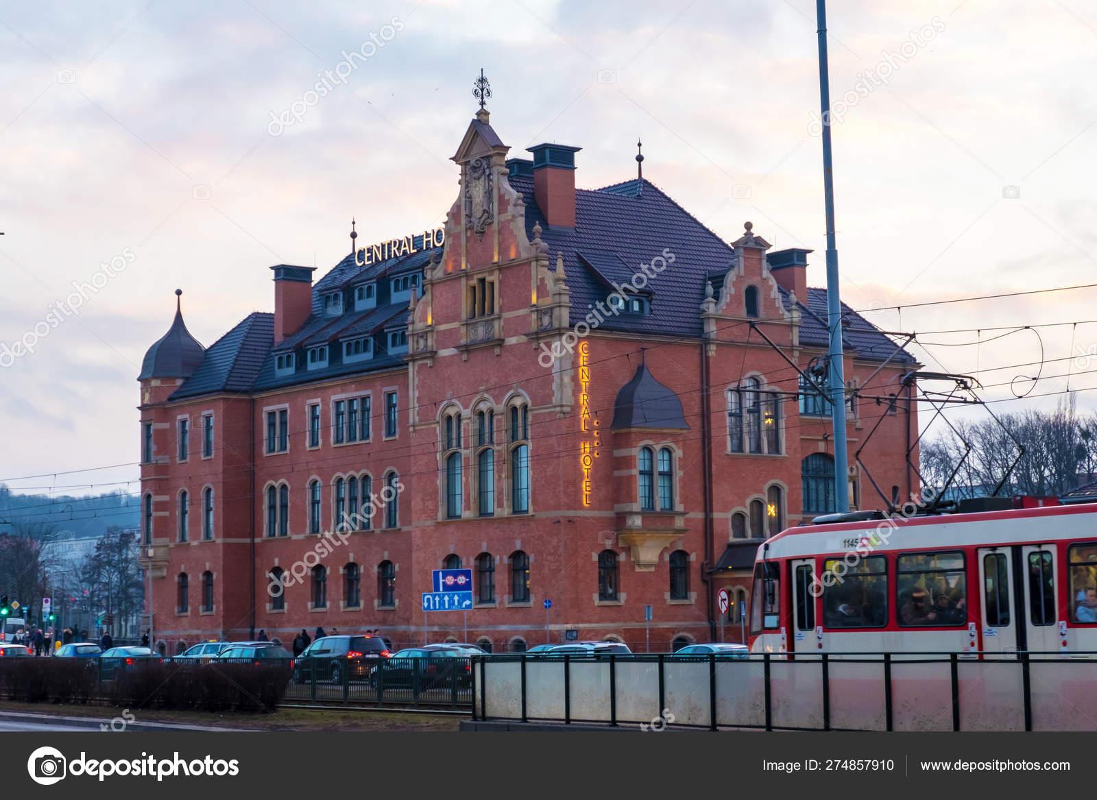 Central Hotel Near The Main Railway Station Of Gdansk Poland