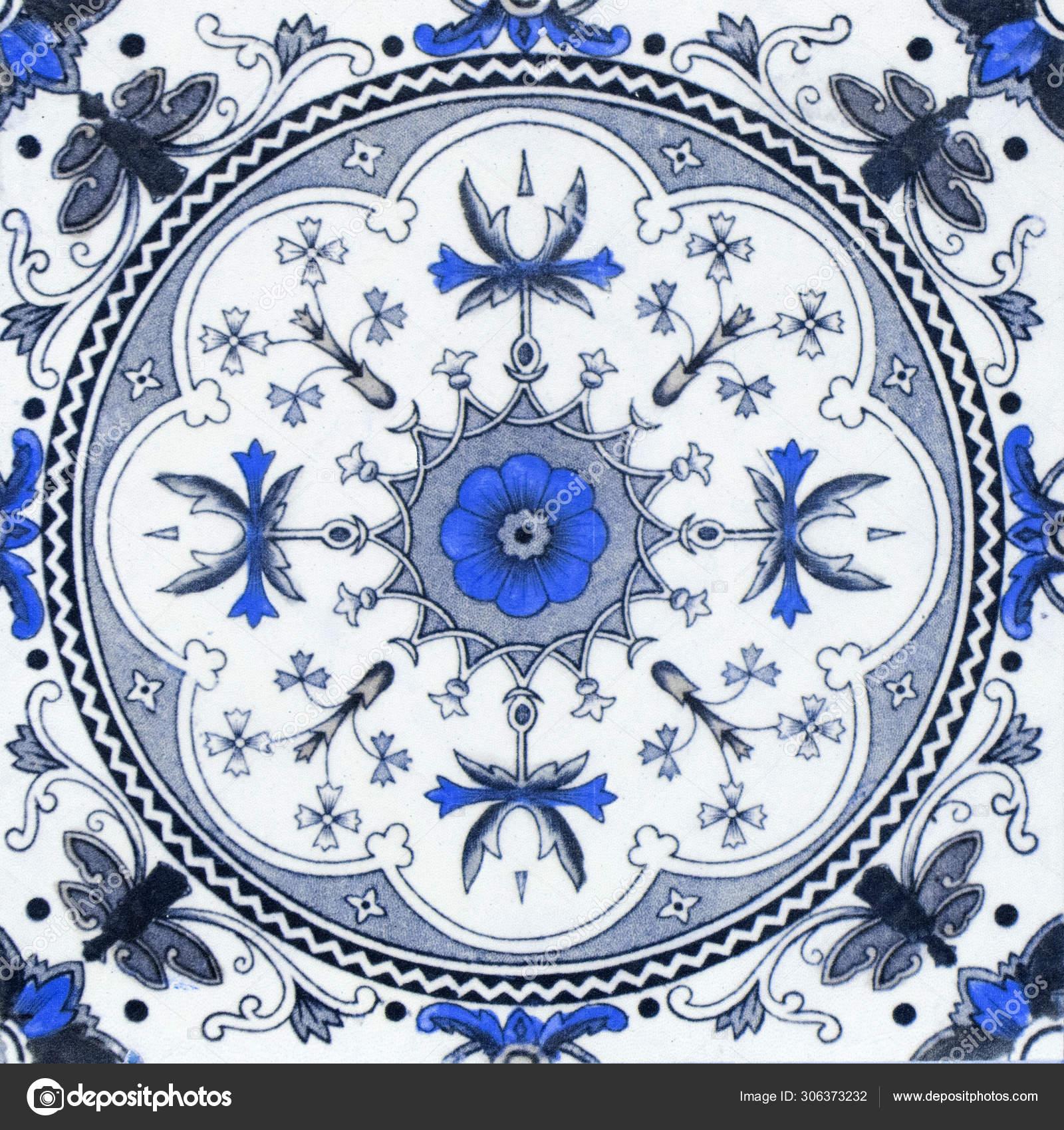 Vintage Ceramic Tiles Wall Decoration Turkish Ceramic Tiles Wall Stock Photo C Scmode3 Gmail Com 306373232
