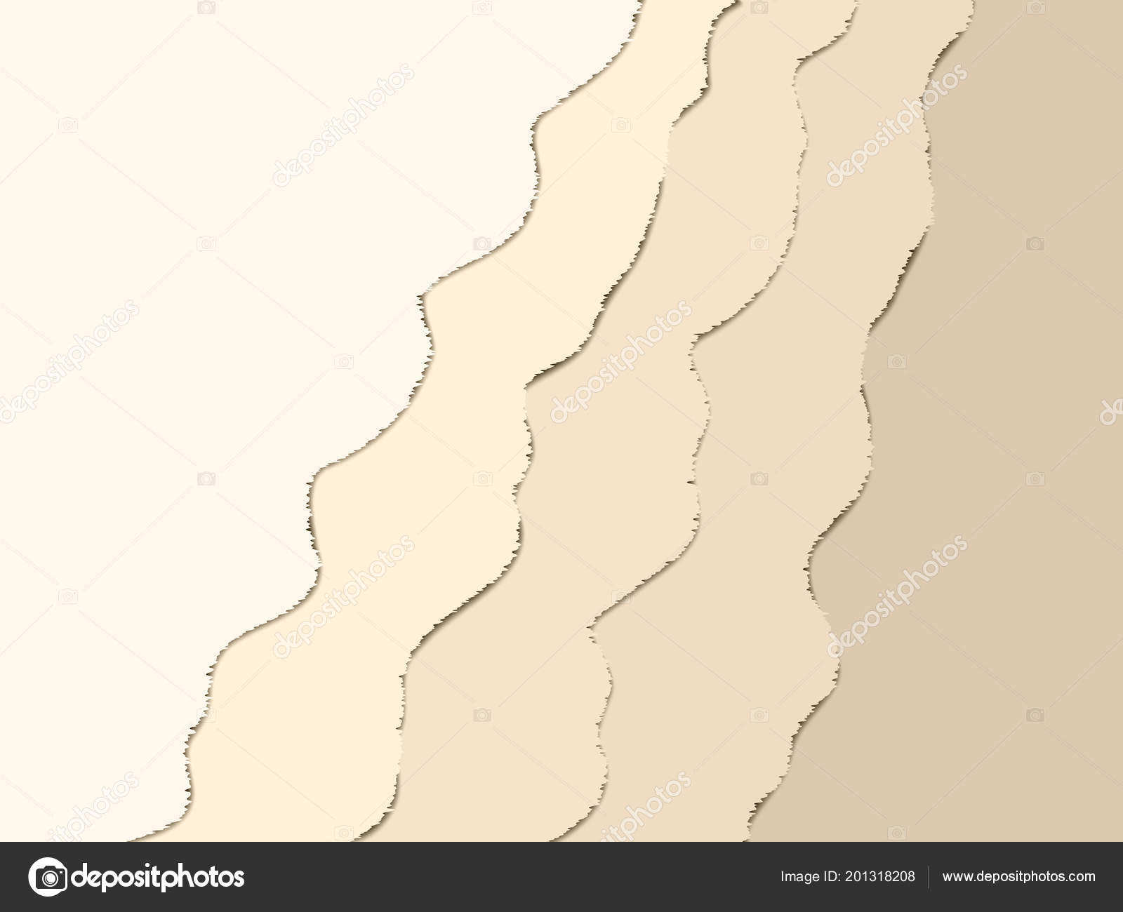 abstract paper cut art background design website template topography