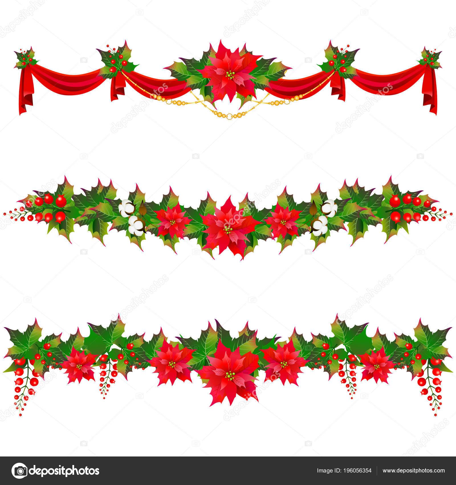 Guirnaldas De Navidad Imagenes.Fotos Guirnaldas Navidad Guirnaldas Navidad Con Flores