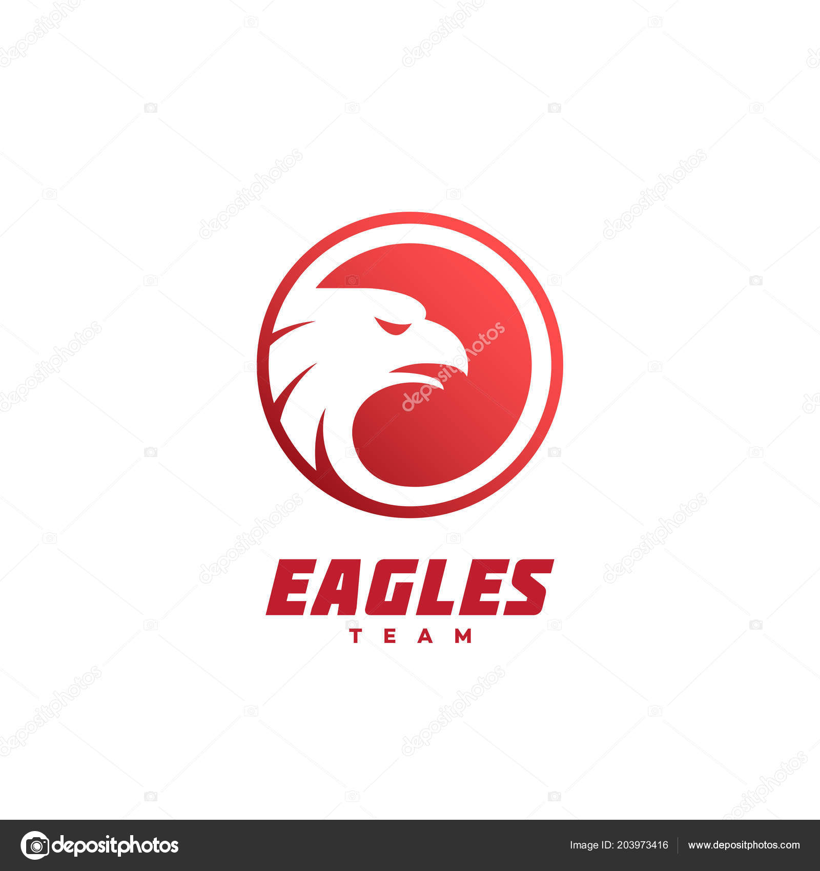 Eagle head template | Eagle Head Logo Design Template Vector