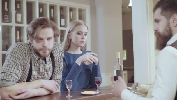 Elegant romantic dating video