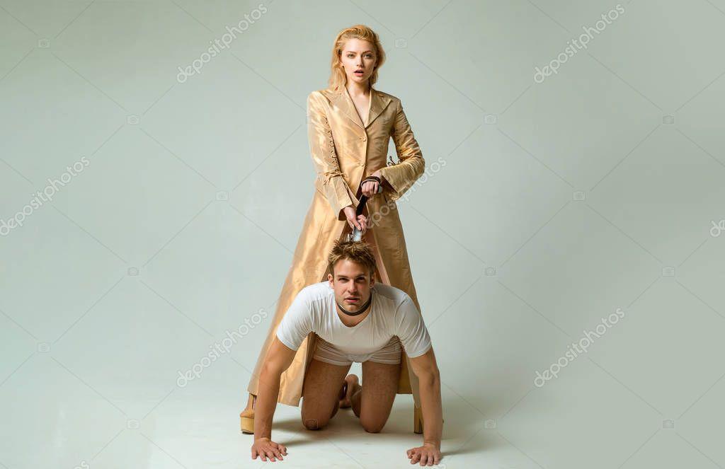 Женское доминирование над мужем, как трахают сисястых телок