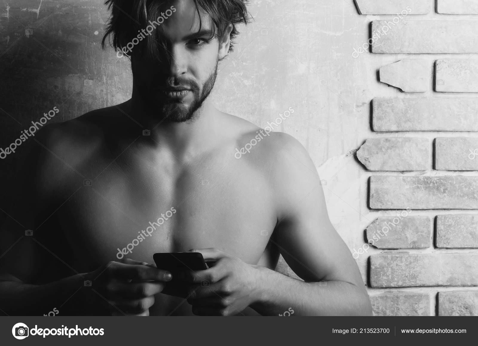 Naked guy phone pic