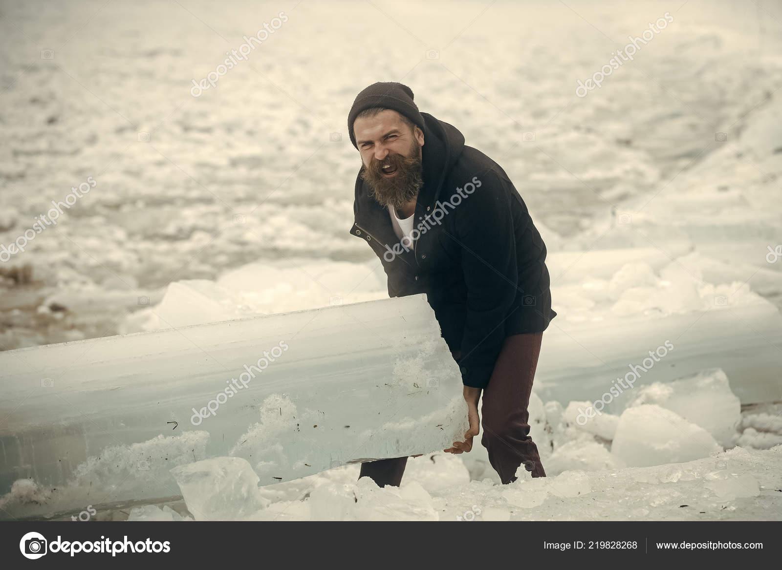 Cold weather and ice age. — Stock Photo © Tverdohlib.com #219828268