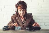 Fotografie Old-School-Musik-Player, radio